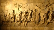Arch of Titus Menorah in the temple of peace
