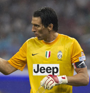 Buffon, the goalkeeper of Juventus