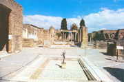 The House of the Faun in Pompei