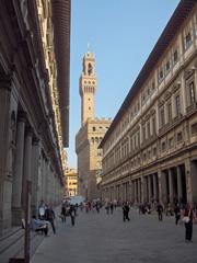 Uffizi Museum with Palazzo Vecchio
