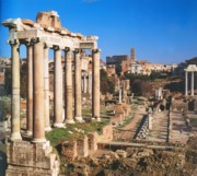 Roman Forum - Centre of the city's life in ancient times