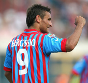 Gonzalo Bergessio, striker of Catania