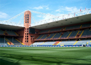 The Luigi Ferraris Stadium of Genoa