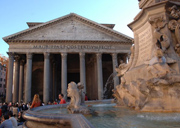 Pantheon, one of the symbols of Rome