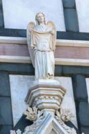 Detail of the Basilica of the Holy Cross