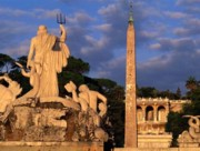 Piazza del Popolo by night