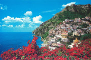 Positano and its colours