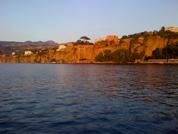 Sorrento coast in volcanic stone