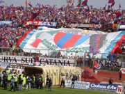 The Angelo Massimino Stadium of Catania