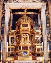 The tabernacle of the Basilica of St. John in the Lateran