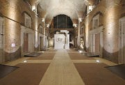View of the large hall in the Trajan's markets