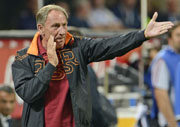Zeman, coach of Roma football club