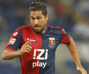 Borriello, striker of Genoa