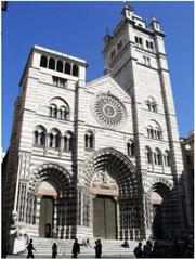 The Cathedral of San Lorenzo in Genova