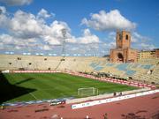 The Renato Dall'Ara Stadium in Bologna