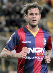 Diamanti, attacking midfielder of Bologna team
