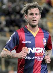 Diamanti, attacking midfielder of Bologna team