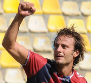 Gilardino, striker of Bologna