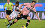 Ilicic, midfielder of Palermo
