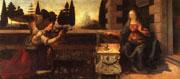 Leonardo's Annunciation