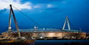 The new Juventus stadium