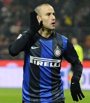 Rodrigo Palacio, striker  of Inter Milan
