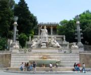 Fountain in the Piazza del Popolo