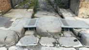 Ramp for disabled in Pompeii ruins