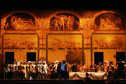 Rigoletto Opera by Verdi in San Carlo Theatre in Naples