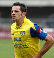 Sergio Pellissier, striker of Chievo