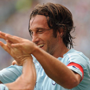 Stefano Mauri, midfielder for Serie A club Lazio.