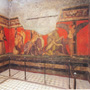 The Room of Misteries in Pompei